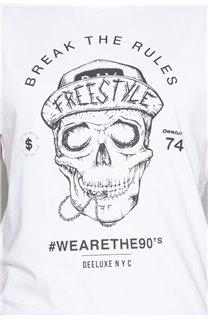 T-Shirt T-SHIRT INGENIOUS Homme W191111 (46750) - DEELUXE