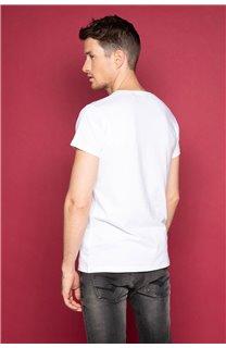 T-Shirt T-SHIRT JUST Homme W19189 (46764) - DEELUXE