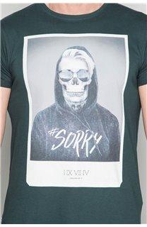 T-Shirt T-SHIRT JUST Homme W19189 (46775) - DEELUXE