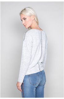 Pull Pull CHARLY Femme W19334W (46804) - DEELUXE
