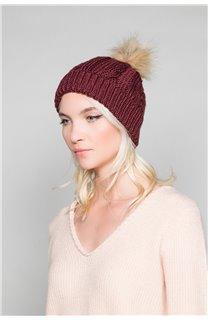 Bonnet PRALOUP Femme W18932W (46906) - DEELUXE