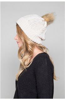 Bonnet PRALOUP Femme W18932W (46909) - DEELUXE