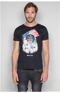 T-Shirt T-SHIRT ASTOMONK Homme W19179 (47114) - DEELUXE
