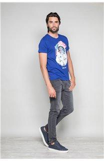 T-Shirt T-SHIRT ASTOMONK Homme W19179 (47118) - DEELUXE