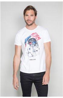 T-Shirt T-SHIRT ASTOMONK Homme W19179 (47124) - DEELUXE