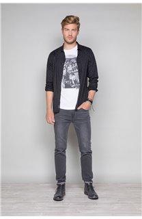 T-Shirt T-SHIRT BADASS Homme W19181 (47128) - DEELUXE