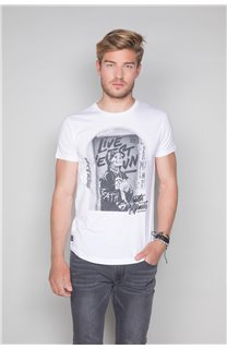 T-Shirt T-SHIRT BADASS Homme W19181 (47129) - DEELUXE