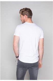 T-Shirt T-SHIRT BADASS Homme W19181 (47130) - DEELUXE