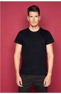 T-Shirt T-SHIRT BLACKTIGER Homme W19109 (47134) - DEELUXE