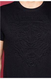 T-Shirt T-SHIRT BLACKTIGER Homme W19109 (47136) - DEELUXE