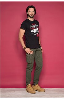 T-Shirt T-SHIRT RIDERS Homme W19180 (47153) - DEELUXE