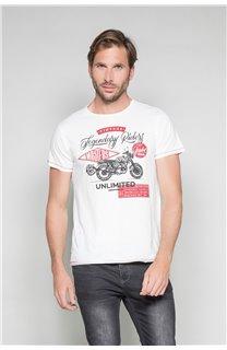 T-Shirt T-SHIRT RIDERS Homme W19180 (47157) - DEELUXE