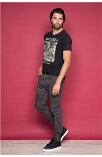T-Shirt T-SHIRT TIBERLY Homme W19174 (47183) - DEELUXE