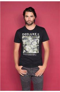 T-Shirt T-SHIRT TIBERLY Homme W19174 (47184) - DEELUXE
