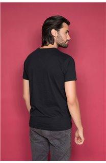 T-Shirt T-SHIRT TIBERLY Homme W19174 (47185) - DEELUXE