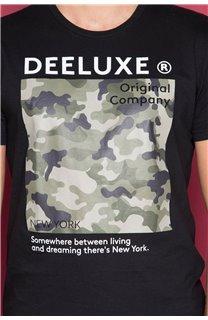 T-Shirt T-SHIRT TIBERLY Homme W19174 (47186) - DEELUXE