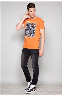 T-Shirt T-SHIRT TIBERLY Homme W19174 (47188) - DEELUXE