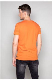 T-Shirt T-SHIRT TIBERLY Homme W19174 (47190) - DEELUXE