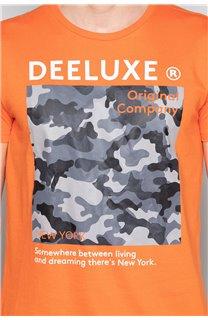 T-Shirt T-SHIRT TIBERLY Homme W19174 (47191) - DEELUXE
