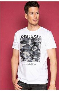 T-Shirt T-SHIRT TIBERLY Homme W19174 (47192) - DEELUXE