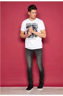 T-Shirt T-SHIRT TIBERLY Homme W19174 (47193) - DEELUXE