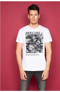 T-Shirt T-SHIRT TIBERLY Homme W19174 (47194) - DEELUXE