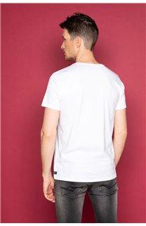 T-Shirt T-SHIRT TIBERLY Homme W19174 (47195) - DEELUXE