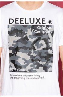 T-Shirt T-SHIRT TIBERLY Homme W19174 (47196) - DEELUXE