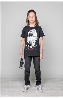 T-Shirt T-SHIRT LANDY Garçon W19126B (47198) - DEELUXE