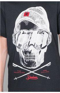 T-Shirt T-SHIRT LANDY Garçon W19126B (47201) - DEELUXE