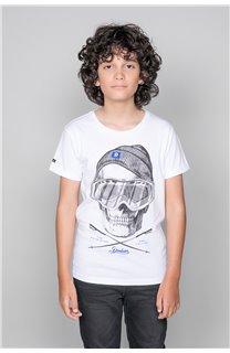 T-Shirt T-SHIRT LANDY Garçon W19126B (47204) - DEELUXE