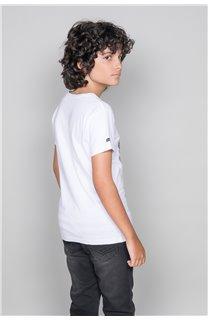 T-Shirt T-SHIRT LANDY Garçon W19126B (47205) - DEELUXE
