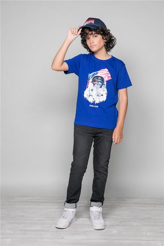 T-Shirt T-Shirt ASTOMONK Garçon W19179B (47212) - DEELUXE