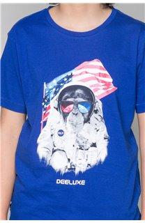 T-Shirt T-Shirt ASTOMONK Garçon W19179B (47216) - DEELUXE