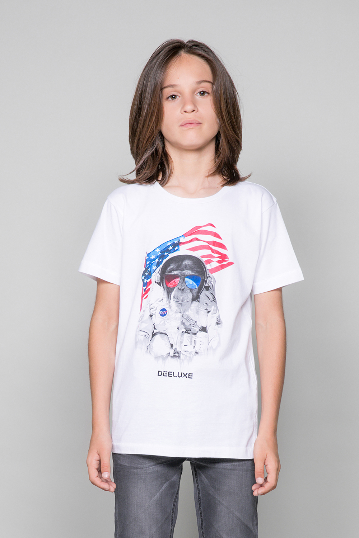 T-Shirt ASTOMONK Garçon W19179B (47217) - DEELUXE