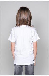 T-Shirt ASTOMONK Garçon W19179B (47220) - DEELUXE
