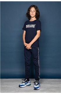 T-Shirt T-Shirt ALEC Garçon W191104B (47228) - DEELUXE