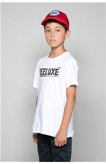 T-Shirt T-Shirt ALEC Garçon W191104B (47232) - DEELUXE