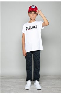 T-Shirt T-Shirt ALEC Garçon W191104B (47233) - DEELUXE