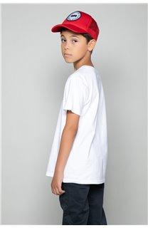 T-Shirt T-Shirt ALEC Garçon W191104B (47235) - DEELUXE