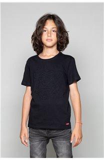 T-Shirt T-Shirt BLACKTIGER Garçon W19109B (47237) - DEELUXE
