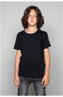 T-Shirt T-Shirt BLACKTIGER Garçon W19109B (47239) - DEELUXE