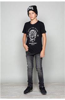 T-Shirt T-Shirt INGENIOUS Garçon W191111B (47248) - DEELUXE