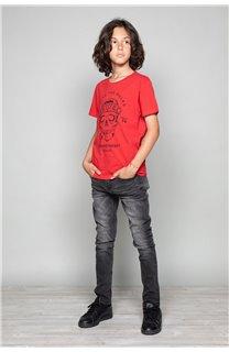 T-Shirt T-Shirt INGENIOUS Garçon W191111B (47253) - DEELUXE