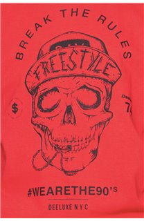 T-Shirt T-Shirt INGENIOUS Garçon W191111B (47256) - DEELUXE