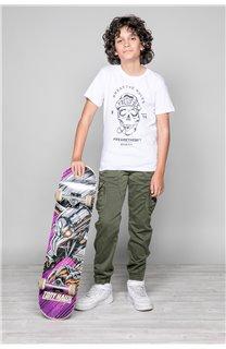 T-Shirt T-Shirt INGENIOUS Garçon W191111B (47258) - DEELUXE