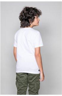 T-Shirt T-Shirt INGENIOUS Garçon W191111B (47260) - DEELUXE