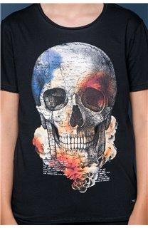 T-Shirt T-SHIRT JACKY Garçon W19152B (47266) - DEELUXE