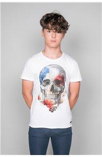 T-Shirt T-SHIRT JACKY Garçon W19152B (47267) - DEELUXE
