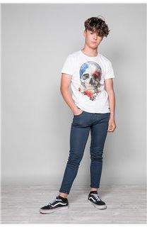 T-Shirt T-SHIRT JACKY Garçon W19152B (47268) - DEELUXE
